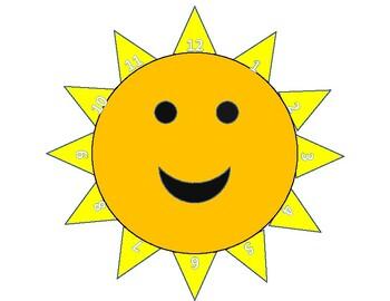 12 Count Sun Rays