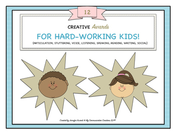 12 Creative Awards for Hard-Working Kids {End of Year/End of Block}