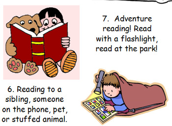 12 Creative Ideas for 20 minutes of Reading