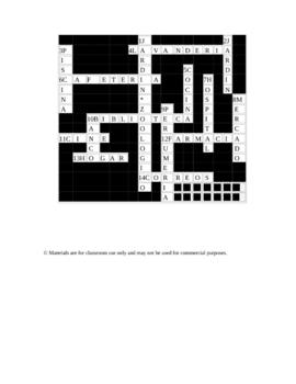 12 Crucigramas en espanol