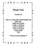 12 Day Titanic Unit