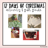 12 Days Before Christmas Break- Activity & Gift Guide