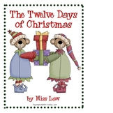 12 Days Of Christmas Book--School Version