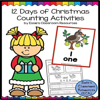12 Days Of Christmas Counting Activity