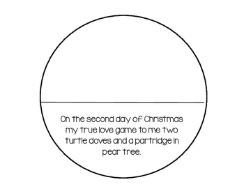 12 Days Of Christmas Interactive Reader (Some math)