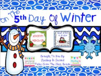 12 Days Of Winter- Day Five Freebie