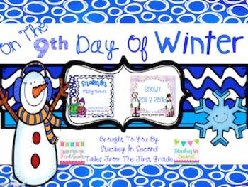 12 Days Of Winter- Day Nine Freebie