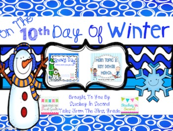12 Days Of Winter- Day Ten Freebie