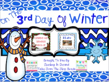 12 Days Of Winter- Day Three Freebie