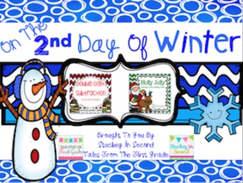 12 Days Of Winter- Day Two Freebie