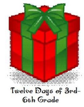 12 Days of 3rd - 6th Grade