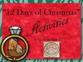 """12 Days of Christmas"" Activities"