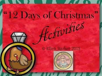 """12 Days of Christmas"" Activities"
