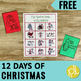 12 Days of Christmas Activity Pack Free