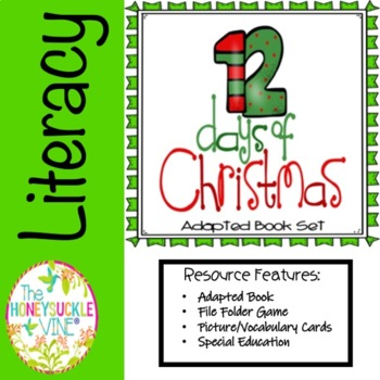 12 Days of Christmas Adapted Book Set