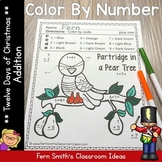 Color By Numbers Twelve Days of Christmas Addition