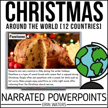 12 Days of Christmas Around the World BUNDLE {Powerpoint Presentations}