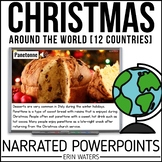 12 Days of Christmas Around the World BUNDLE {Powerpoint Presentations}