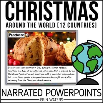 12 Days of Christmas Around the World BUNDLE {Powerpoint P