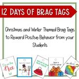 12 Days of Christmas Brag Tags