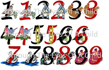12 Days of Christmas CLIP ART