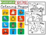 12 Days of Christmas Coloring