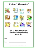 12 Days of Christmas, Copywork,  Music, Tracing and Activities