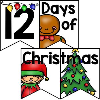 12 Days of Christmas Countdown