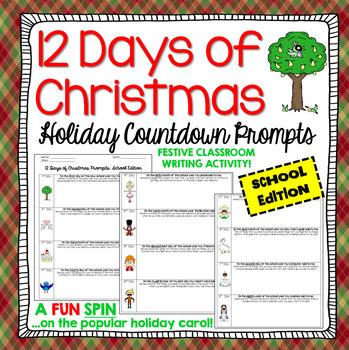 Christmas Writing: 12 Days of Christmas