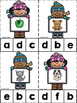 Winter Kids ABC's & 123's Clip Cards {NO DITTOS}