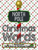 12 Days of Christmas: Christmas Words