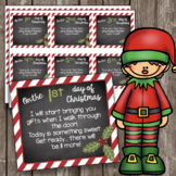 12 Days of Christmas EDITABLE Cards - Twelve Days Activities - Poems - Gifts
