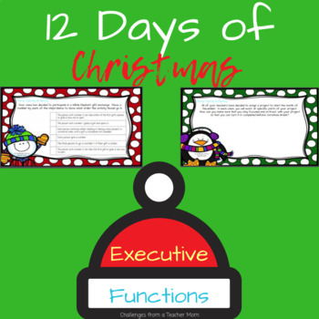 12 Days of Christmas: Executive Functioning
