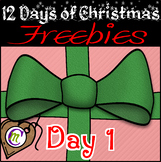 12 Days of Christmas FREEBIES Day 1   -♥ Crunchymom