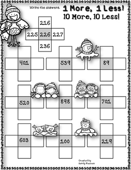 12 Days of Christmas FREEBIE Day 11 {Winter Math Printables}