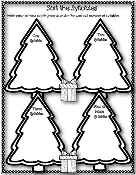 12 Days of Christmas FREEBIE! Day 2 {Open Spelling Printables}