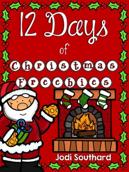 12 Days of Christmas Freebies