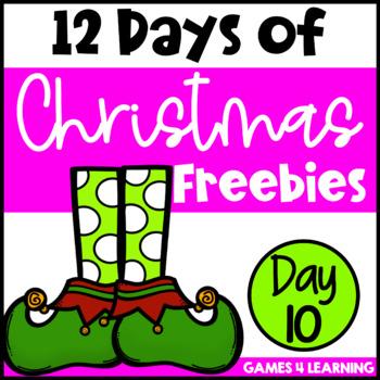 Twelve Days of Christmas Freebies DAY 10 - Free Christmas Activities