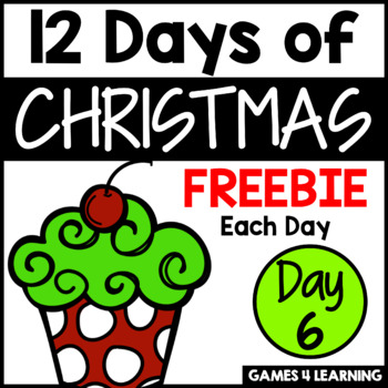 12 Days of Christmas Freebies DAY 6 - Free Christmas Activities