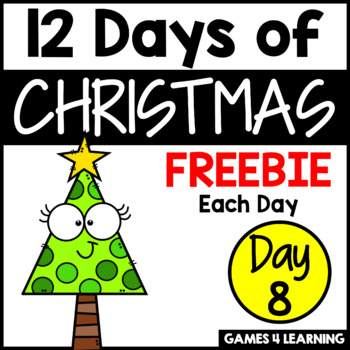 12 Days of Christmas Freebies DAY 8 - Free Christmas Activities