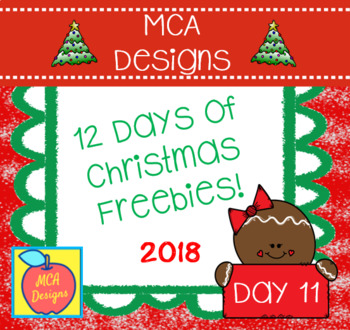 12 Days of Christmas Freebies - Day 11