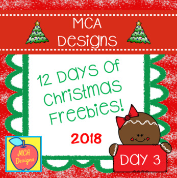 12 Days of Christmas Freebies - Day 3