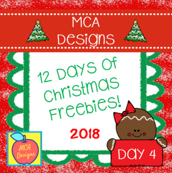 12 Days of Christmas Freebies - Day 4