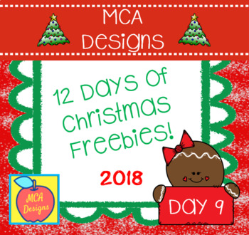 12 Days of Christmas Freebies - Day 9