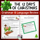 Grammar Review | 12 Days of Christmas Grammar Practice and