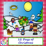 12 Days of Christmas Interactive Book