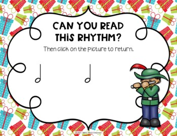 12 Days of Christmas Interactive Rhythm Practice Game - Ta-a
