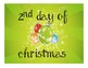 12 Days of Christmas, JK-4, FUN activities to do the last
