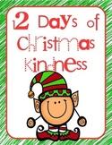 12 Days of Christmas Kindness QR activities