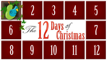 12 Days of Christmas - Listening Activity + Parody Writing